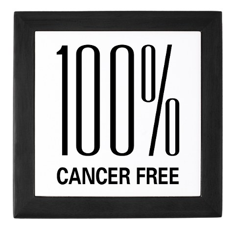 Cancer free sign