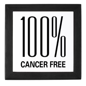 100% cancer free